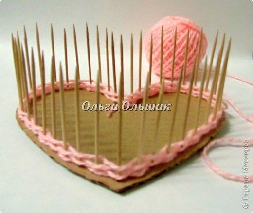 Начинаем с ребятами завтра подготовку подарков к 8 марта.Сделала вот такую вазочку-конфетницу для образца. фото 3
