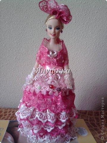 Кукла-шкатулка,невеста.Делала подруге на День рождения. фото 7