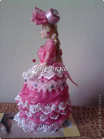 Кукла-шкатулка,невеста.Делала подруге на День рождения. фото 9