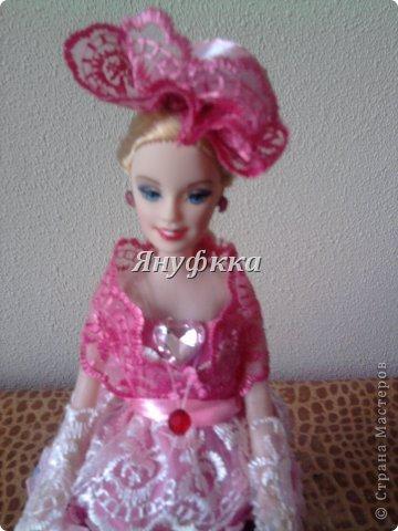 Кукла-шкатулка,невеста.Делала подруге на День рождения. фото 6