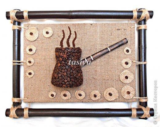 Декор предметов Моделирование конструирование ДУЭТ 2 панно на стену Кофе фото 1