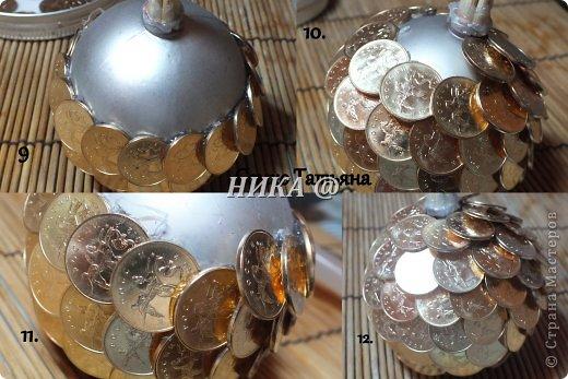 Изделия из монет мастер класс
