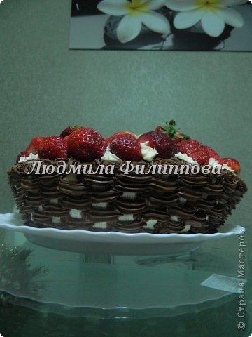 Добрый день Дорогие Мастерицы! Вот такие тортики я сделала на 8 Марта сотрудницам мужа. фото 4