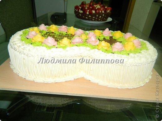 Добрый день Дорогие Мастерицы! Вот такие тортики я сделала на 8 Марта сотрудницам мужа. фото 12