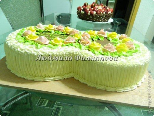 Добрый день Дорогие Мастерицы! Вот такие тортики я сделала на 8 Марта сотрудницам мужа. фото 10