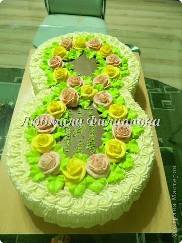 Добрый день Дорогие Мастерицы! Вот такие тортики я сделала на 8 Марта сотрудницам мужа. фото 9