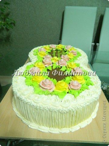 Добрый день Дорогие Мастерицы! Вот такие тортики я сделала на 8 Марта сотрудницам мужа. фото 13