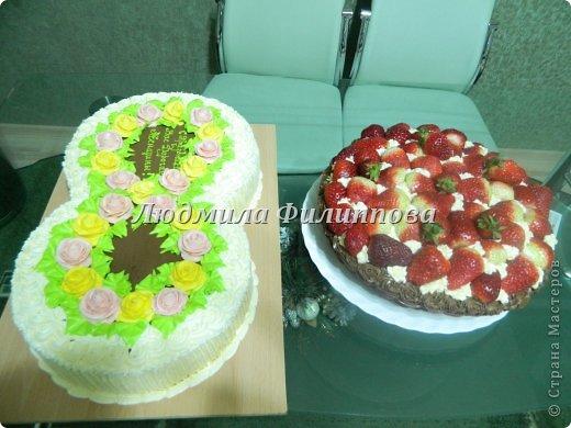 Добрый день Дорогие Мастерицы! Вот такие тортики я сделала на 8 Марта сотрудницам мужа. фото 1