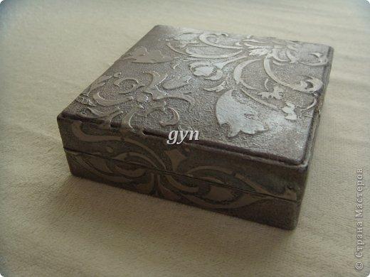 Ящик и шкатулка в винтажной технике фото 6