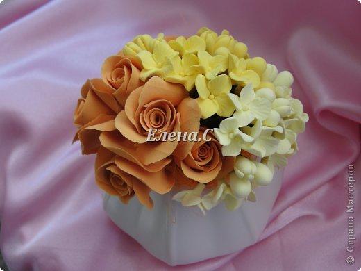 цветы из японской полимерной глины CLAYCRAFT by DECO фото 2