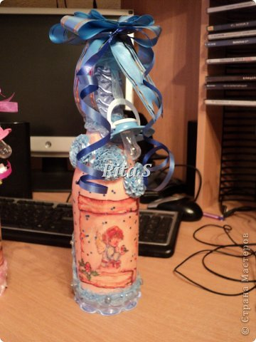 бутылка на свадьбу фото 2