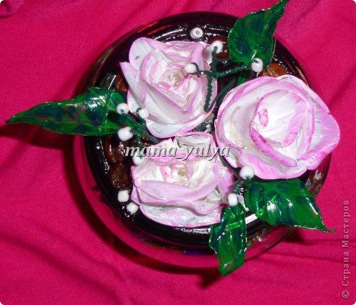Вот такая конфетница готова отправиться в подарок на День рождения одной замечательной девушке!!! фото 3