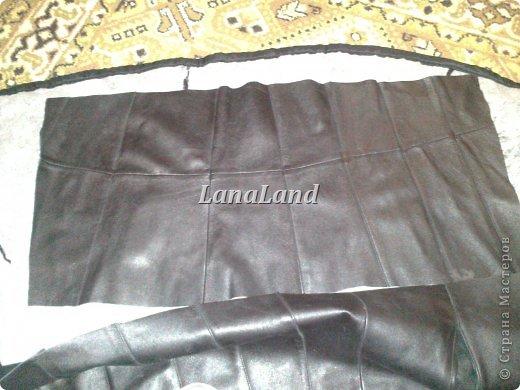 мечты сбываются)кожаная сумка с бахромой фото 7