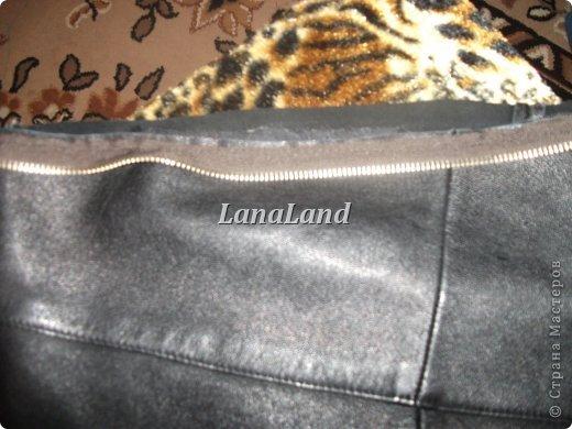 Гардероб Мастер-класс Шитьё мечты сбываются кожаная сумка с бахромой Кожа фото 11.