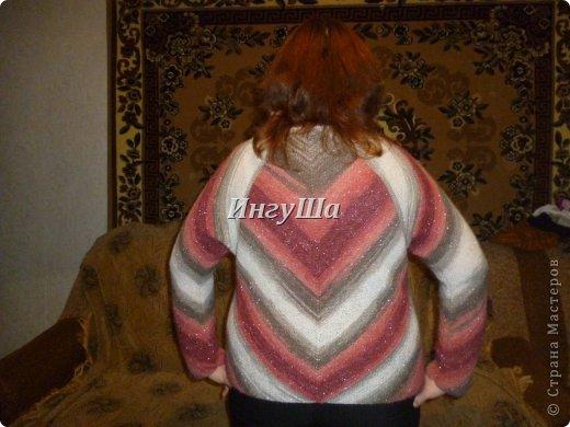 Магический квадрат пуловер спицами дубль 2 для себя страна