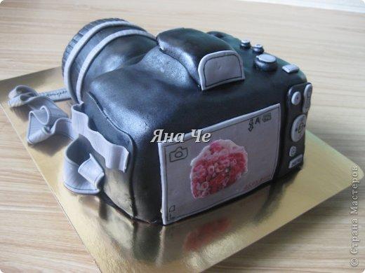 Такой вот торт-фотоаппарат сегодня я сделала. Делала его впервые и постаралась запечатлеть сей процесс, чем и хочу поделиться с Вами. Это первый мой МК, так что не судите строго. фото 17