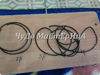 Браслет шамбала толстой нитками муляне либо веревочками либо же шнурками Нам понадобятся два отрезка нашей верёвочки ниточки . Один 40-45 см. Второй 120-125 см. фото 1