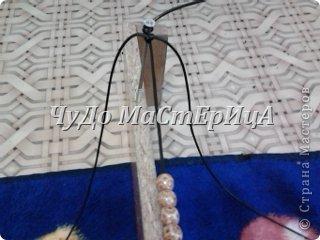 Браслет шамбала толстой нитками муляне либо веревочками либо же шнурками Нам понадобятся два отрезка нашей верёвочки ниточки . Один 40-45 см. Второй 120-125 см. фото 3