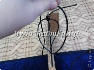 Браслет шамбала толстой нитками муляне либо веревочками либо же шнурками Нам понадобятся два отрезка нашей верёвочки ниточки . Один 40-45 см. Второй 120-125 см. фото 5