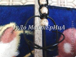 Браслет шамбала толстой нитками муляне либо веревочками либо же шнурками Нам понадобятся два отрезка нашей верёвочки ниточки . Один 40-45 см. Второй 120-125 см. фото 8