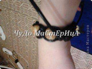 Браслет шамбала толстой нитками муляне либо веревочками либо же шнурками Нам понадобятся два отрезка нашей верёвочки ниточки . Один 40-45 см. Второй 120-125 см. фото 18