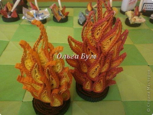 Поделки на тему огонь своими руками из