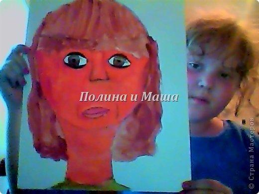как рисовать лицо ребёнка видео