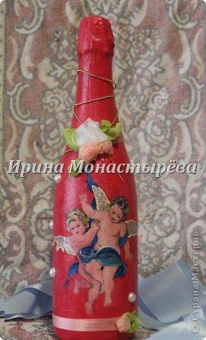Бутылка на рождение ребёнка фото 2