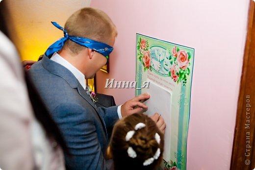 Всем привет! Мой фото отчет  выкупа со свадьбы сестры. Хочу выразить огромную благодарность Ирине Рязаночке за идею столь великолепного выкупа.Здесь полный сценарий  http://stranamasterov.ru/node/219632. Только у нас вместо Лилии была Белая роза! Все гости были восторге.    Охрана! фото 13