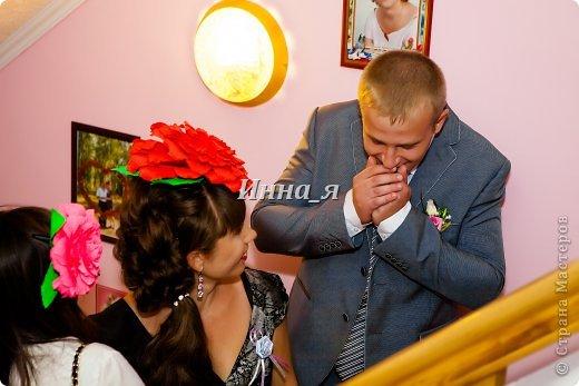 Всем привет! Мой фото отчет  выкупа со свадьбы сестры. Хочу выразить огромную благодарность Ирине Рязаночке за идею столь великолепного выкупа.Здесь полный сценарий  http://stranamasterov.ru/node/219632. Только у нас вместо Лилии была Белая роза! Все гости были восторге.    Охрана! фото 15