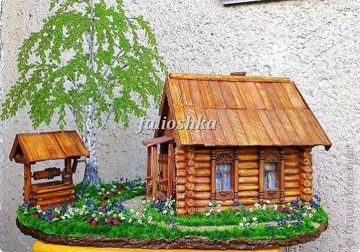Деревянные домики поделки своими руками