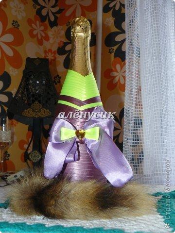 Бутылка в бантиках на день варенья)  фото 2