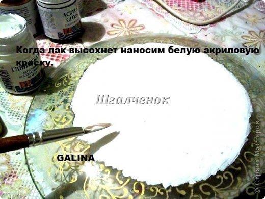 Тарелочка Пасхальная.+ МК. фото 8