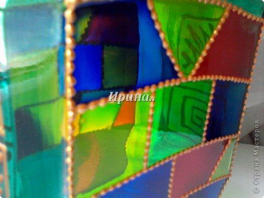 Контур и витражные краски фото 5