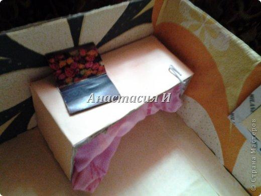 Спальня с новой двуспальной кроватью. фото 7
