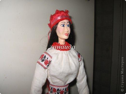 Авторская кукла Наталка Полтавка,рост 50см.,в единственном экземпляре,2012 г.. фото 2