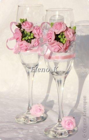 Свадебніе бокалы фото 1