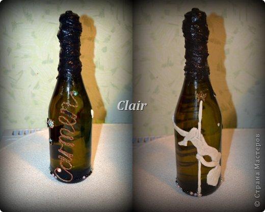 Вот такая бутылка родилась к концу фитнес-сезона для любимого тренера Елизаветы!!! фото 10