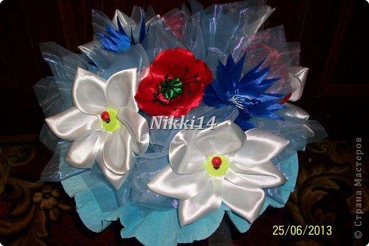 Букет полевых цветов. фото 2