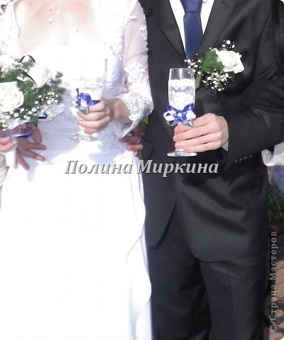 """Подобный набор я делала на свою собственную свадьбу, одна из невест попросила повторить для неё! Немного """"модернизировав"""" у меня вышло вот что.. фото 4"""