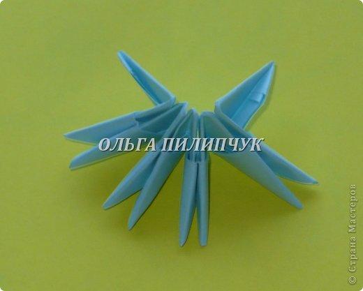 Для Кроша понадобится: всего 326 модулей. Белых - 9 модулей (1/32),  голубых - 295  модулей (1/32) и  голубых - 22 модулей (1/64).   фото 4