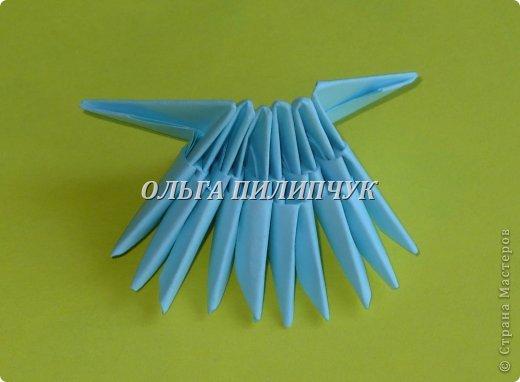 Для Кроша понадобится: всего 326 модулей. Белых - 9 модулей (1/32),  голубых - 295  модулей (1/32) и  голубых - 22 модулей (1/64).   фото 5