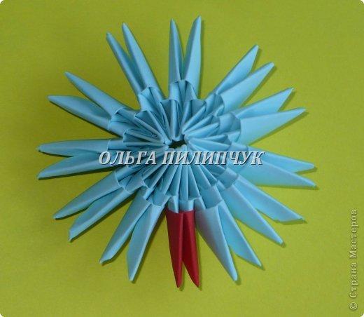Для Кроша понадобится: всего 326 модулей. Белых - 9 модулей (1/32),  голубых - 295  модулей (1/32) и  голубых - 22 модулей (1/64).   фото 8
