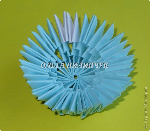 Для Кроша понадобится: всего 326 модулей. Белых - 9 модулей (1/32), голубых - 295 модулей (1/32) и голубых - 22 модулей (1/64). фото 11