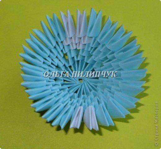 Для Кроша понадобится: всего 326 модулей. Белых - 9 модулей (1/32),  голубых - 295  модулей (1/32) и  голубых - 22 модулей (1/64).   фото 13
