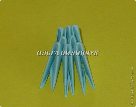 Для Кроша понадобится: всего 326 модулей. Белых - 9 модулей (1/32),  голубых - 295  модулей (1/32) и  голубых - 22 модулей (1/64).   фото 21