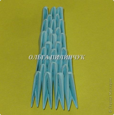 Для Кроша понадобится: всего 326 модулей. Белых - 9 модулей (1/32),  голубых - 295  модулей (1/32) и  голубых - 22 модулей (1/64).   фото 28