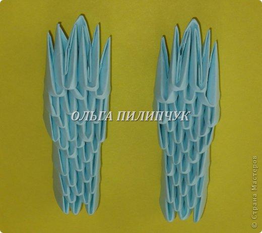 Для Кроша понадобится: всего 326 модулей. Белых - 9 модулей (1/32),  голубых - 295  модулей (1/32) и  голубых - 22 модулей (1/64).   фото 32