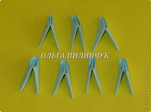 Для Кроша понадобится: всего 326 модулей. Белых - 9 модулей (1/32), голубых - 295 модулей (1/32) и голубых - 22 модулей (1/64). фото 34