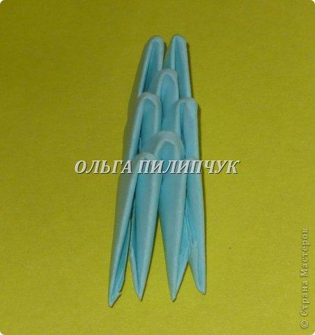 Для Кроша понадобится: всего 326 модулей. Белых - 9 модулей (1/32),  голубых - 295  модулей (1/32) и  голубых - 22 модулей (1/64).   фото 42